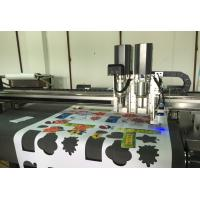 Quality Flatbed roll printing finishing cnc cutting system video ccd alignment for sale