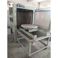 Buy cheap Turntable Dry Manual Blasting Machine 1200*1200*1950mm Dimension from wholesalers