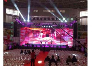 Quality Full Color 4mm 1000x500mm LED Stage Screen Rental for sale