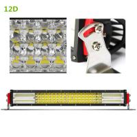 Quality 22 / 32 Inch Led Light Bar Led Roadway Lighting Die Cast Aluminum Housing for sale