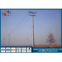 China 69KV Hot Dip Galvanized Electric Steel Tubular Pole for Electrical Line on sale