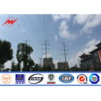 Buy cheap OEM Communication Steel Tubular Pole Artifical Antenna Tower Cell Camouflaged Pole from wholesalers