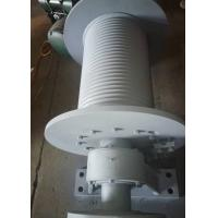 Quality Q345 Material Spiral Grooving Drum For Hydraulic And Electric Winch for sale