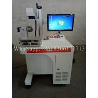 Buy cheap 20w Portable CNC Marking Machine , Color Fiber Laser Marking Machine from wholesalers