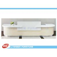 Quality White MDF Wood Reception Desk  for sale
