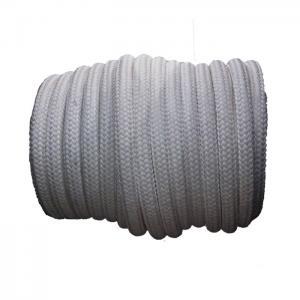 China Vessel Mooring Sunproof Double Braided Nylon Rope 72mm X 220m Highspeed Weaving on sale