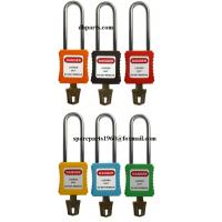 Buy cheap 76mm Non-Conductive Steel Shackle Safety Padlock from wholesalers