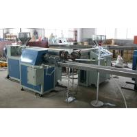 Quality Plastic Soft Pipe Extrusion Line , PVC Steel Wire Reinforced Pipe Extrusion for sale