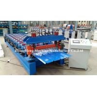 China Aluminium Profile Roof Panel Roll Forming Iron Sheet Making Machine made in China on sale