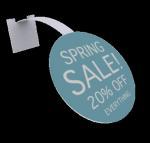 Best Advertising Pvc Shelf Wobbler Plastic Shelf Dangler For Shopping Centers wholesale
