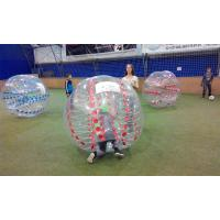 China Advertising Clear  Inflatable Sports Games Soccer Ball Can Accept Design on sale