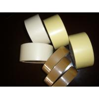 Quality Heat resistance crepe paper tape yellow brown color Masking tape for car repair painting for sale