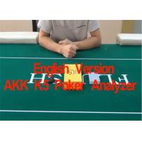 Quality English Verson AKK K5 Poker Cards Analyzer for Reporting Poker Results  in Advance for sale