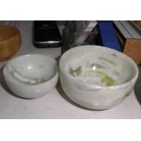 Quality Natural China Lantian Green Jade Bowl Crafts for sale