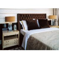 Buy High End Solid Wooden Villa Furniture  , Queen Or King Bedroom Sets at wholesale prices