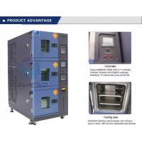 Quality Vehicle Temperature Humidity Test Chamber , 3 Layer Air Cooling Climatic Stability Testing Equipment for sale