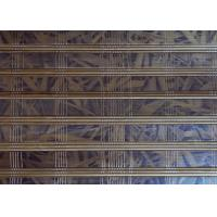Quality Colored Natural Bamboo Blinds , Bamboo Patio Curtains Natural Dyed Color for sale