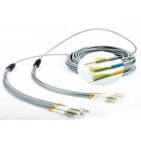 Buy FO Sensor 6 Core Multimode Fiber Optic Cable , Gray LC - LC Fiber Optic Armored Cable at wholesale prices