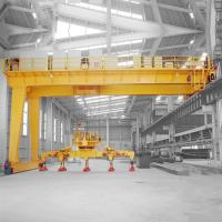 China High Light Duty Overhead Travelling Crane For Workshop 10t Electric Hoist on sale