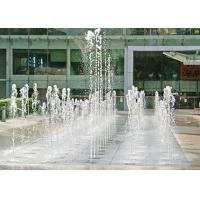 Quality Large Outdoor Dry Ground Floor Water Fountains With Customized Music Dancing for sale
