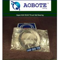 Quality Single Direction Thrust Ball Bearing p5 With Single Row , Japan NSK 51110 for sale