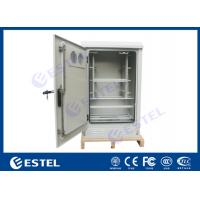 """Quality 6U 19""""  Steel Outdoor Telecom Cabinet / Powder Coating Small Battery Enclosure for sale"""