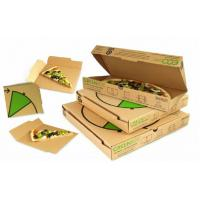 Quality Recycled Custom Cardboard Boxes For Food / Sandwich Packaging for sale