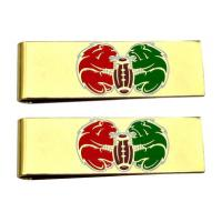Quality Promotional Gift Metal Money Clips With Various Plating And Enamel Coloring for sale