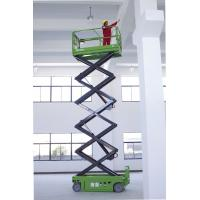 Quality Electric Man Lift 10 Meters, Self propelled Scissor Lift With Extendable Platform for sale