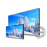 Quality Narrow Bezel Flexible Digital Signage Video Wall 65 Inch Samsung With Front Maintenance for sale