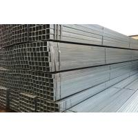 Quality Welded Hot Dipped Galvanized Steel Rectangular Tube ASTM A500 / A53 for sale