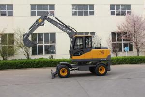 Quality New arrival HT-75 Diesel Engine Hydraulic Excavator With Cheap Price For Garden Home Use for sale