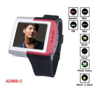 """Quality 1.8"""" TFT True Color Screen MP4 Player Watch With Alarm o"""