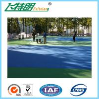 Silicon PU Floor multifunctional outdoor Basketball Courts Badminton Court Flooring Materials