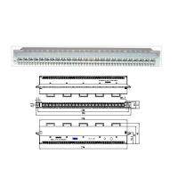 China ZTE 25 Pair Protection Module Main Distribution Frame 19 Inch Sub Rack for POTS / DSL on sale