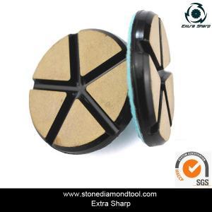 "Quality 3"" 80mm Ceramic Resin Bond Diamond Grinding Disc Stone Floor Polishing Pads for sale"