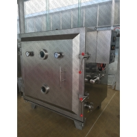 China GMP Standard SS304 SS316 Vacuum Fruit Drying Machine for sale