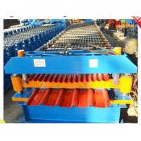 China steel roofing corrugating machine on sale