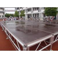 Quality Portable Mobile Stage platform in this Display Aluminum Stage Outdoor used for Concert With Adjustable Height Legs for sale