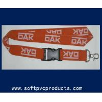 Quality Woven Single Layer Heat-transfer Printing Custom Printed Lanyards for Promotional for sale