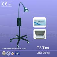 China White Vertical Teeth Whitening Machine For Home Use With LED Light on sale