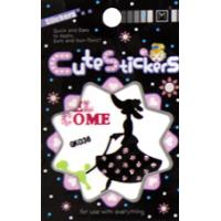 Quality Removable customized glitter stickers Lady Design for car Window decoration for sale
