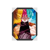 Quality 3D Japanese Anime Lenticular Poster 3D Lenticular Anime DBZ With 30x40cm Size for sale