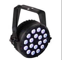 Quality led stage indoor par lights ,stage effect washer lights head lights ,18pcs led new par for sale