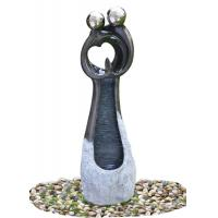 Quality Contemporary Garden Fountains , Statue Water Fountains Custom Design Acceptable for sale