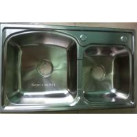 Quality SUS304 simple kitchen designs modular  Stainless Steel  Kitchen Sink WY-7843D for sale