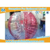 Buy 1.8m Beautiful Inflatable Bubble Ball Outdoor Inflatable Loopy Ball Soccer at wholesale prices