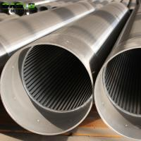 Quality Customized Continuous Slot Screen Pipe For Water Well 25 - 1500mm Diameter for sale