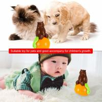 Quality Christmas gift tumbler cat toy funny tumbler pet cat dog toy sunds Light for sale