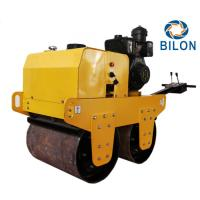 Quality 70HZ 8HP Double Drum Vibratory Road Roller Travel Speed 0-4km/H for sale